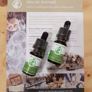 CBD olie by Mondi Animali